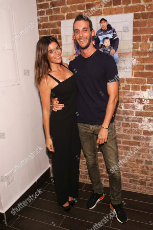Smile Train Ambassador Julia Restoin Roitfeld and Vladimir Restoin Roitfeld seen at the Evening of Smiles photography exhibition benefiting Smile Train on in New York