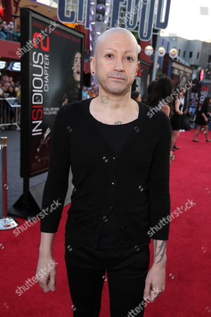 Composer Joseph Bishara seen at 'Insidious Chapter 2' World Premiere, on Tuesday, Sep, 10, 2013 in Los Angeles