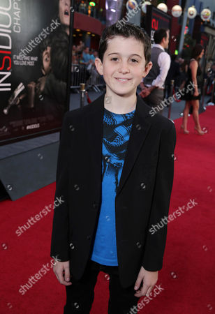 Andrew Astor seen at 'Insidious Chapter 2' World Premiere, on Tuesday, Sep, 10, 2013 in Los Angeles