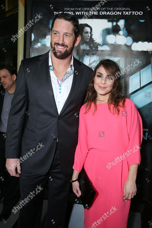 """Wade Barrett and Noomi Repace at FilmDistrict's World Premiere of """"Dead Man Down"""" held at the ArcLight Hollywood, on in Los Angeles"""