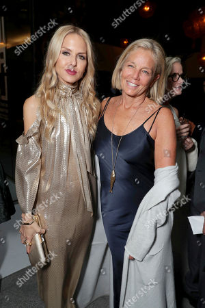 """Rachel Zoe and Kelly Meyer seen at Focus Features Los Angeles Special Screening of """"Nocturnal Animals"""" after party at Hammer Museum, in Los Angeles"""
