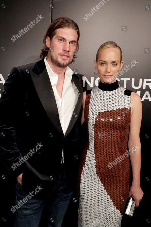 "Christian McCaw and Amber Valletta seen at Focus Features Los Angeles Special Screening of ""Nocturnal Animals"" at Hammer Museum, in Los Angeles"
