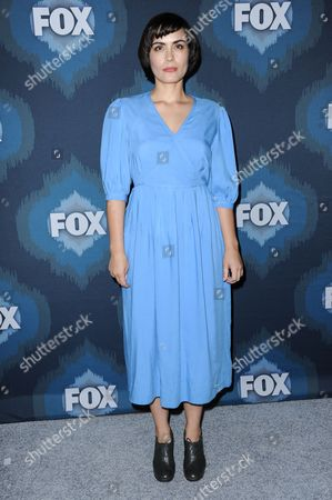 Shannyn Sossamon arrives at the Fox Winter TCA All Star Party, in Pasadena, Calif