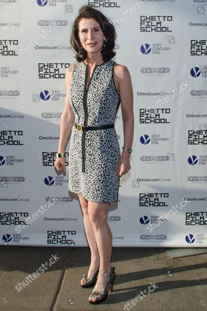 Katherine Oliver attends the Ghetto Film School 10th Annual Spring benefit at The Standard Biergarten on in New York