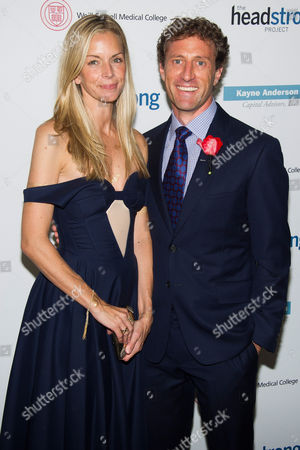Stock Photo of Meredith Melling Burke and Zach Iscol attend the Headstrong Project Words of War benefit on in New York