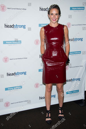 Stock Image of Jill Demling attends the Headstrong Project Words of War benefit on in New York