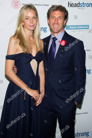 Stock Picture of Meredith Melling Burke and Zach Iscol attend the Headstrong Project Words of War benefit on in New York