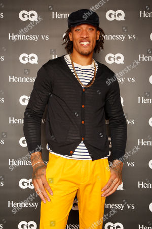 """Miami Heat's Michael Beasley attends the """"Hennessy V.S Celebrates the GQ MEN Book"""" at Hyde Beach at the SLS Hotel South Beach on in Miami Beach, Fl"""