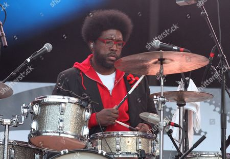Rapper Quest Love of the group The Roots is seen performing during Hot 97's Summer Jam at MetLife Stadium on in East Rutherford, New Jersey