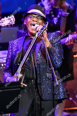 Joe Louis Walker performs at Icon: The Life And Legacy Of B.B. King at the Wallis Annenberg Center for the Performing Arts, in Beverly Hills, Calif