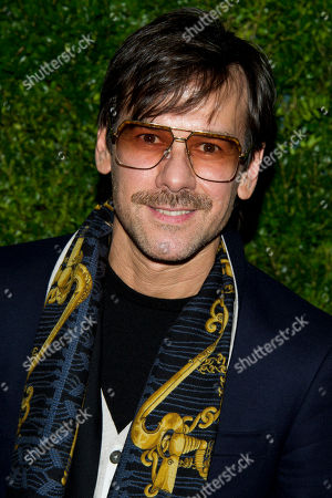 """Stock Photo of Antonio Azzuolo attends the premiere of the documentary film """"In Vogue: The Editor's Eye"""" on in New York"""