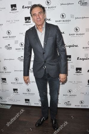 Michael Richards attends the Inaugural Los Angeles Baby Buggy Fatherhood Lunch at Palm Restaurant, in Beverly Hills, Calif