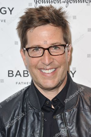 Spike Feresten attends the Inaugural Los Angeles Baby Buggy Fatherhood Lunch at Palm Restaurant, in Beverly Hills, Calif