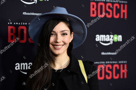 "Editorial picture of LA Premiere of ""Bosch"" Season Two - Arrivals, West Hollywood, USA"