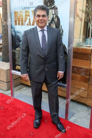 """Stock Image of Sheldon Lettich arrives at the LA Premiere of """"Max"""" at the Egyptian Theatre, in Los Angeles"""