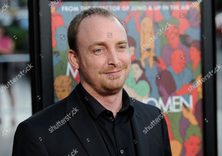 """Stock Photo of Novelist Chad Kultgen arrives at the premiere of the film """"Men, Women & Children"""" at the Directors Guild of America, in Los Angeles"""