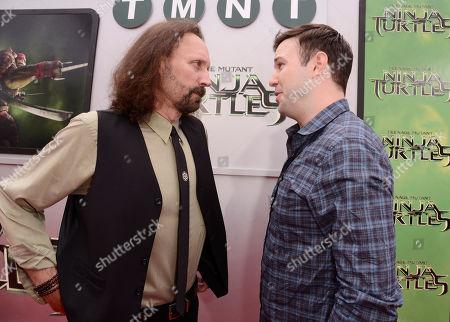 """Editorial image of LA Premiere of """"Teenage Mutant Ninja Turtles"""" - Red Carpet, Los Angeles, USA"""