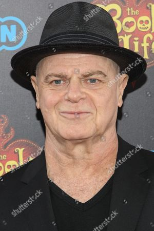 """Gustavo Santaolalla attends the premiere of """"The Book of Life"""" at Regal Cinemas at LA Live on Sun, in Los Angeles"""