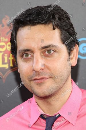 """Ben Gleib attends the premiere of """"The Book of Life"""" at Regal Cinemas at LA Live on Sun, in Los Angeles"""