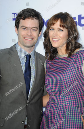 """Bill Hader, Maggie Carey arrives at the LA Premiere of """"The to Do List"""" at the Regency Bruin Theatre on in Los Angeles"""