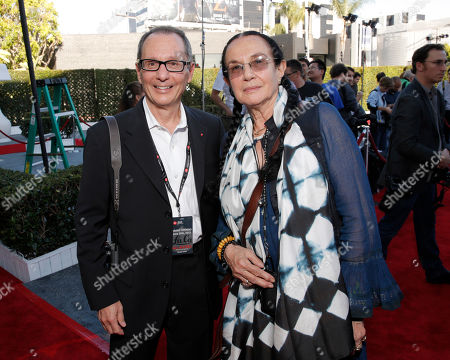 Chairman of the Leica Camera AG Supervisory Committee, Roger Horn and Mary Ellen Mark attend the Leica Los Angeles Grand Opening, on Thursday, June, 20, 2013 in West Hollywood, California