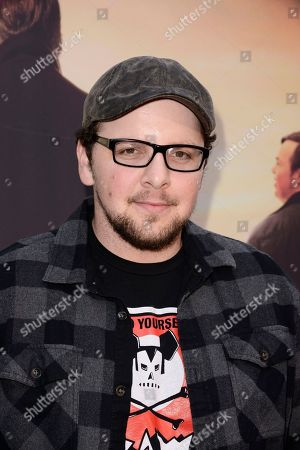 Stock Image of Austin Basis seen at Los Angeles Premiere of Roadside Attractions/Godspeed Pictures 'Where Hope Grows' at Arclight Cinemas Hollywood, in Los Angeles, CA