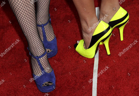 Liz Mace, left, and Megan Mace attend Macy's Passport presents Glamorama 2012 at The Orpheum Theatre, in Los Angeles
