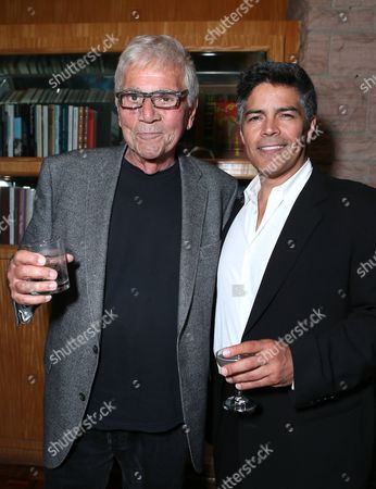 """Alex Rocco and Esai Morales at the """"Magic City"""" season 2 premiere after party, in Los Angeles"""