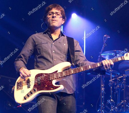 Brian Yale of the rock band Matchbox Twenty performs on the bands North Tour at the Event Center in the Borgata Hotel and Casino, in Atlantic City, N.J