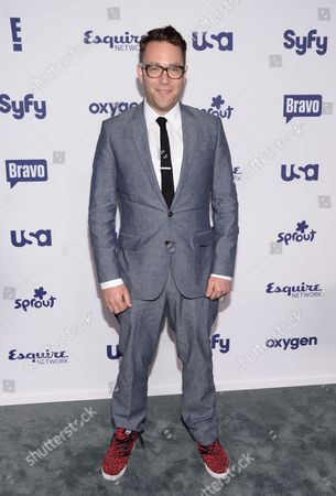 Ilan Hall attends the NBCUniversal Cable Entertainment 2014 Upfront at the Javits Center, in New York
