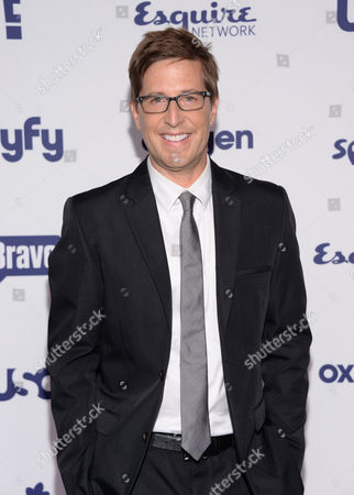 Spike Feresten attends the NBCUniversal Cable Entertainment 2014 Upfront at the Javits Center, in New York