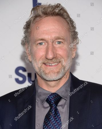 Brian Henson attends the NBCUniversal Cable Entertainment 2014 Upfront at the Javits Center, in New York