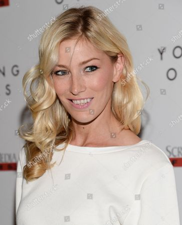 "Model Aimee Ruby attends the ""Young Ones"" premiere at the Landmark Sunshine, in New York"