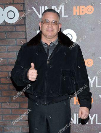 "John Gotti Jr. attends the premiere of HBO's new drama series ""Vinyl"", at the Ziegfeld Theatre, in New York"