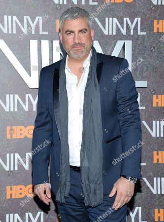 """Singer Taylor Hicks attends the premiere of HBO's new drama series """"Vinyl"""", at the Ziegfeld Theatre, in New York"""