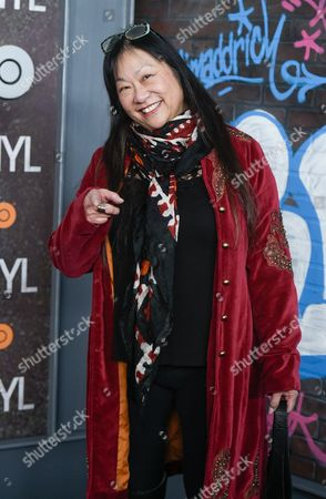 """May Pang attends the premiere of HBO's new drama series """"Vinyl"""", at the Ziegfeld Theatre, in New York"""