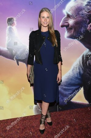 """Julie Henderson attends a special screening of Disney's """"The BFG"""", hosted by The Cinema Society, at Village East Cinema, in New York"""