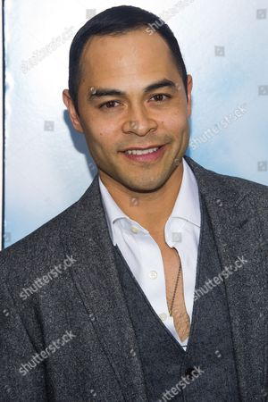 """Jose Pablo Cantillo attends the world premiere of """"Chappie"""" at the AMC Loews Lincoln Square, in New York"""