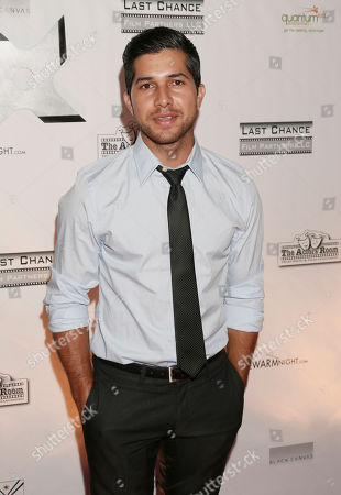 Walter Perez attends the One Warm Night web series premiere, in Los Angeles