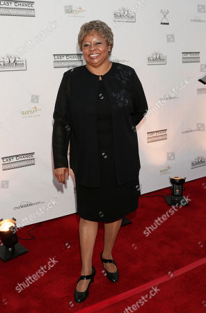 Reatha Grey attends the One Warm Night web series premiere, in Los Angeles