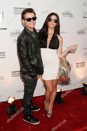 Same Stone and Jennifer Tapiero attend the One Warm Night web series premiere, in Los Angeles