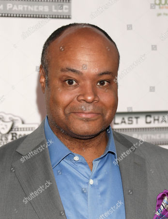 Terence Bernie Hines attends the One Warm Night web series premiere, in Los Angeles