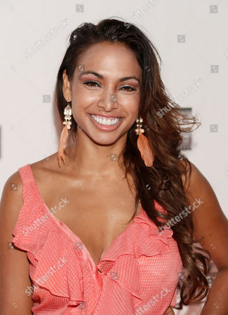 Nadia Dawn attends the One Warm Night web series premiere, in Los Angeles