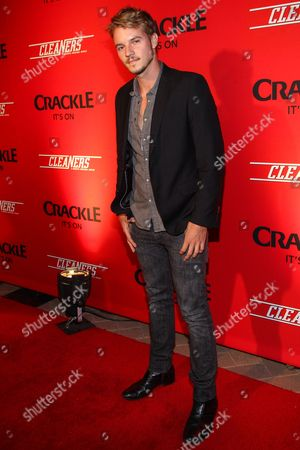"""Actor Nathan Keyes arrives at the original series """"Cleaners"""" special screening at Sony Pictures Studios on in Culver City, Calif"""