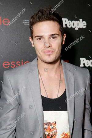 """Justin James Hughes arrives at the PEOPLE """"Ones to Watch"""" Party at The Line Hotel, in Los Angeles"""