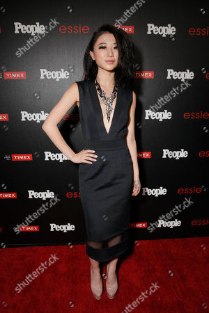 """Annie Q. arrives at the PEOPLE """"Ones to Watch"""" Party at The Line Hotel, in Los Angeles"""