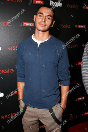 """Manny Montana arrives at the PEOPLE """"Ones to Watch"""" Party at The Line Hotel, in Los Angeles"""
