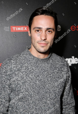 """Stock Photo of Richard Brancatisano arrives at the PEOPLE """"Ones to Watch"""" Party at The Line Hotel, in Los Angeles"""