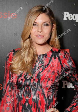 """Andrea Bogart arrives at the PEOPLE """"Ones to Watch"""" Party at The Line Hotel, in Los Angeles"""