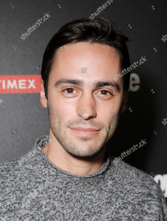 """Richard Brancatisano arrives at the PEOPLE """"Ones to Watch"""" Party at The Line Hotel, in Los Angeles"""